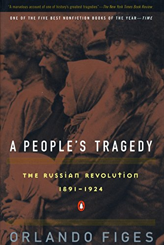 A People's Tragedy. A History of the Russian Revolution. NON-FICTION, Orlando Figes.